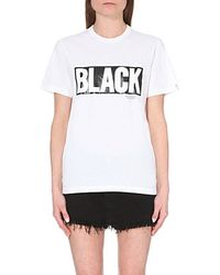 Chocoolate Graphic Cotton T-Shirt - For Women - Lyst
