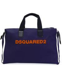 DSquared² - Logo Appliqué Weekender Bag - Lyst