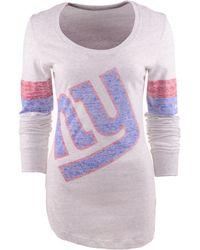 Nike Womens Long-sleeve New York Giants T-shirt - Lyst