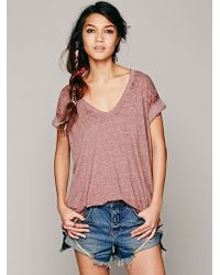 Free People The Keep Me Tee - Lyst
