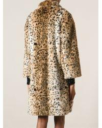 Jay Ahr - Leopard Print Coat - Lyst