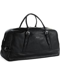 Cole Haan Vegan Leather Duffle Bag - Lyst