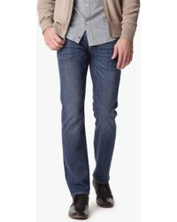 7 For All Mankind Vintage 7 Collection: Slimmy Slim Straight With Clean Pocket - Lyst
