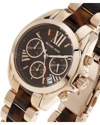 Michael Kors Blair 39mm Chronograph Glitz Watch - Lyst