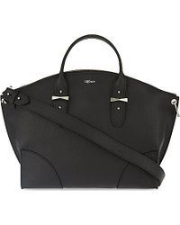 Alexander McQueen Legend Classic Medium Leather Over The Shoulder Handbag - For Women black - Lyst