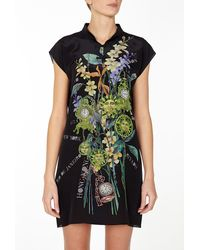 Hermione De Paula Leelo Silk Tunic Dress - Lyst
