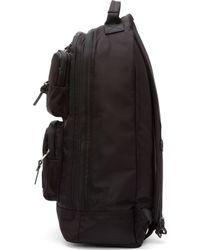 ea4af6bba874 Kris Van Assche - Black Nylon Multi Pocket Backpack - Lyst