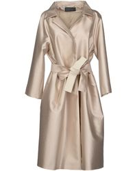 Alberta Ferretti Full-length Jacket - Lyst