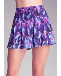 Bebe Easy High-waist Shorts - Lyst