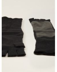 Autumn Cashmere Long Fingerless Gloves - Lyst