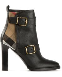 Burberry Prorsum | Buckled Ankle Boots | Lyst