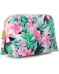 Forever 21 - Island Life Small Cosmetic Bag - Lyst