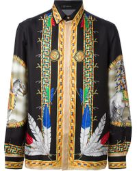 Versace Medusa Shirt - Lyst