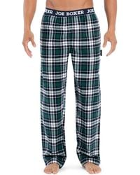 Joe Boxer - Plaid Flannel Pyjama Pants - Lyst
