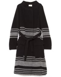 Band of Outsiders - Funnel Neck Coat - Lyst