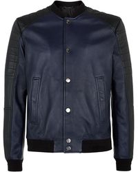 Versace Quilted Bomber Jacket - Lyst