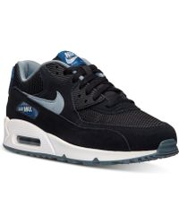 Nike Men'S Air Max 90 Essential Running Sneakers From Finish Line - Lyst