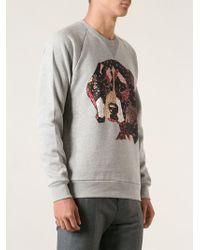 Paul & Joe - Cocker Spaniel Print Sweatshirt - Lyst