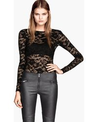 H&M Lace Body - Lyst