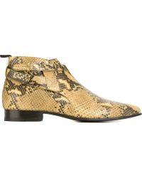 Men S Saint Laurent Boots Lyst