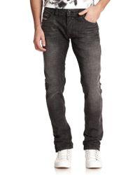 Diesel Safado Slim Straight-Leg Jeans black - Lyst