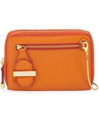 Halston - Mini Double Zippy Crossbody Bag - Lyst