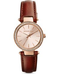 Michael Kors Petite Darci Watch, 26Mm - Lyst