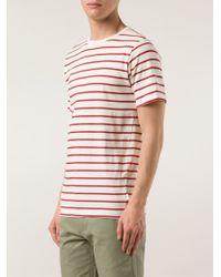 Saturdays Surf NYC Striped Classic T-Shirt - Lyst
