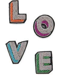 Macon & Lesquoy - Love Pin Set - Lyst