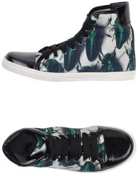 Lanvin High-Tops & Trainers white - Lyst