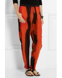 Dagmar Lucy Woven Tapered Pants - Lyst