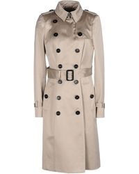 Burberry Prorsum Fulllength Jacket - Lyst