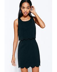 Cooperative - Scallop-Edge Twofer Dress - Lyst