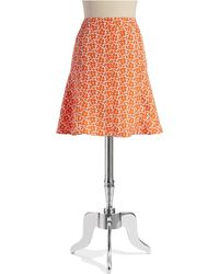 Jones New York - Jacquard Fit-And-Flare Skirt - Lyst