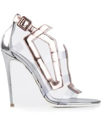 Gianmarco Lorenzi Strappy Sandals - Lyst