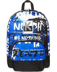 Kenzo No Fish Backpack Blue - Lyst