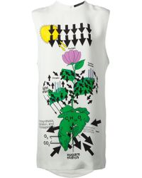 Christopher Kane Abstract Print Dress - Lyst