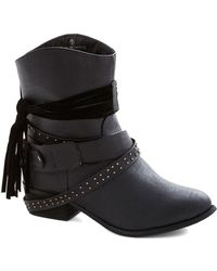 ModCloth Saturday Night Show Boots - Lyst