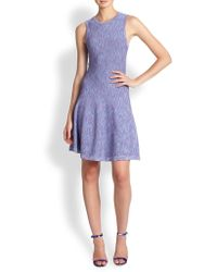 Shoshanna Space Dyed Sweater Dress - Lyst