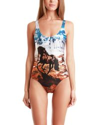 We Are Handsome Stallion Scoop One Piece multicolor - Lyst