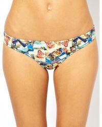 Playful Promises Hawaii Print Bikini Brief - Lyst