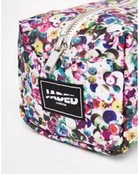 Jaded London - Multicoloured Sequin Print Make-up Bag - Lyst