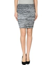 Alexander Wang Knee Length Skirt - Lyst