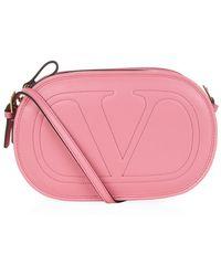 Valentino Logo-Go Crossbody Bag - Lyst