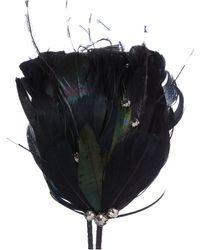 Biba - Kristina Feather Headband - Lyst