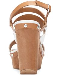 Dolce Vita Dv By Noleta Platform Wedge Sandals - Lyst