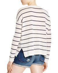 Moon & Meadow - Tasseled Cashmere Sweater - Lyst