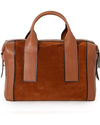 Pierre Hardy Suede And Leather Cross-Body Bag Suede And Leather Cross-Body Bag - Lyst