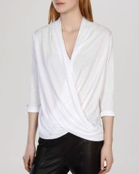 Karen Millen Top - Draped Jersey Collection - Lyst