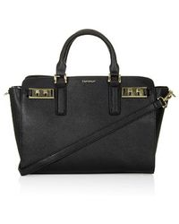 Topshop Belt Buckle Holdall - Lyst